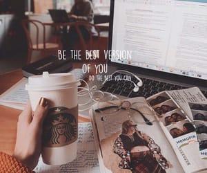 study, coffee, and inspiration image
