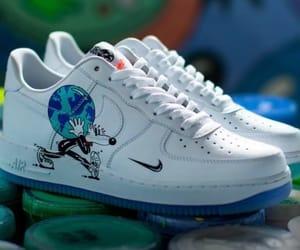 azul, custom, and shoes image