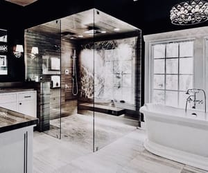 bathroom, decoration, and inspiration image