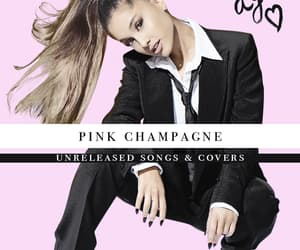 album, pink champagne, and ariana grande album image
