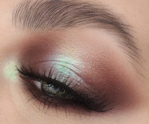 brown, eye, and makeup image