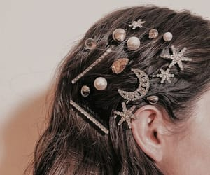 accessories, hair, and fashion image
