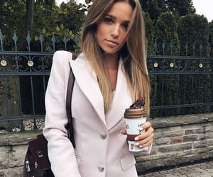fashion, pink, and woman girl image