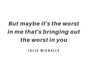 Lyrics and julia michaels image