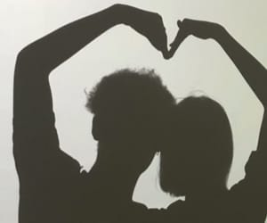 couple, heart, and straight couple image