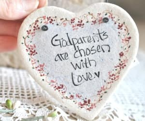 etsy, salt dough ornament, and gifts for godparents image