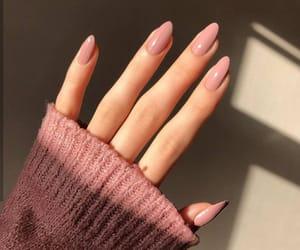 girl, nails, and art image