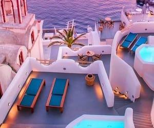 sea and Greece image