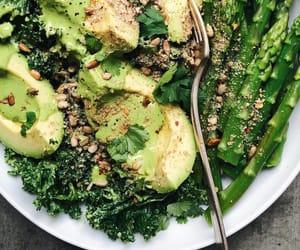 vegan, avocado, and food image