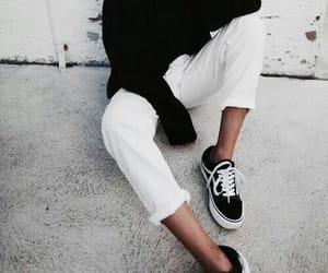 fashion, girl, and vans image