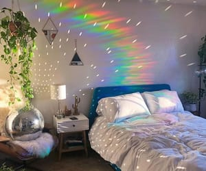 arcoiris, decoracion, and dormitorio image