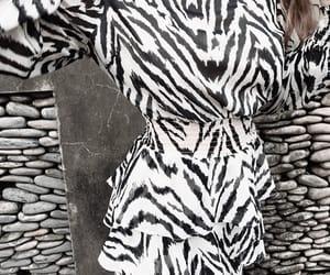 animal print, dress, and fashion image