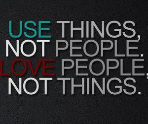 love, people, and things image