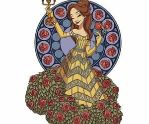 bela, disney, and princesa image