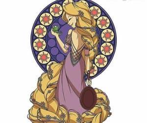 disney, rapunzel, and princesa image