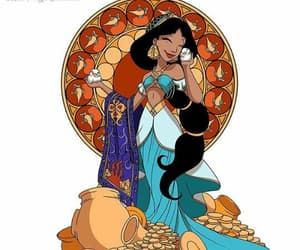 disney, jasmine, and princesa image