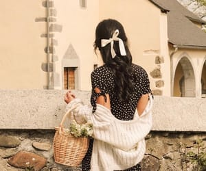 girl, hair, and france image