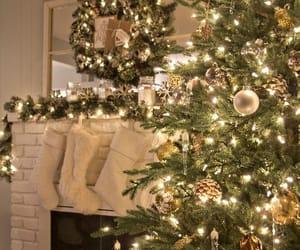 christmas, cozy, and christmas lights image