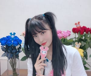 black hair, twice, and instagram image
