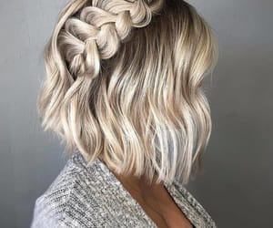style, fashion, and hairstyle image