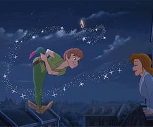 gif and peter pan image