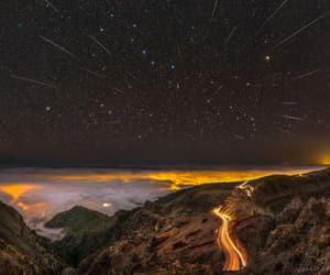 amazing, comet, and meteor image