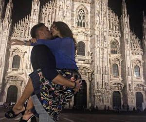 couple, milan, and italianwoman image