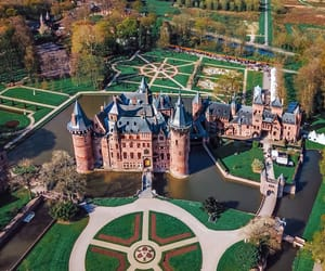 castle, castles, and drone image