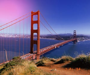 bay area, golden gate, and bridge image