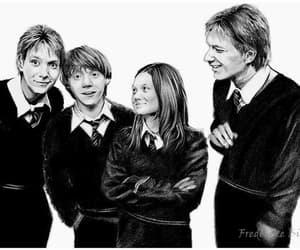 fanart, ginny, and weasleys image