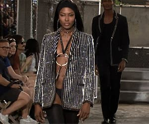 gif, Naomi Campbell, and supermodel image