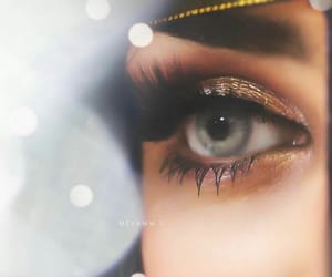 arab, girl, and lashes image