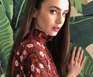 beauty, makeup, and lily collins image