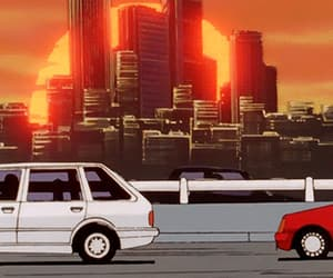 brown, aesthetic anime, and cars image