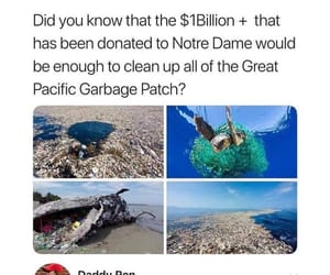 donation, one billion, and clean the ocean image