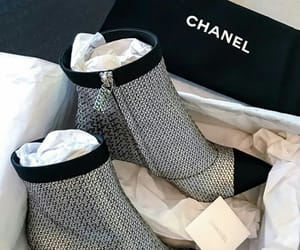 boots, chanel, and heels image