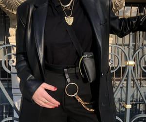 black, minimalist, and fashion image