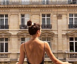 city, france, and girl image