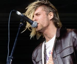 hair, hairstyle, and nirvana image