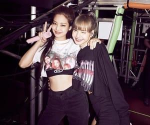 lisa, jennie, and blackpink image