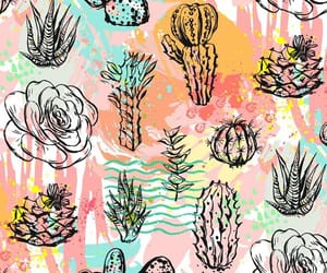 background, plants, and cactus image
