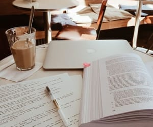 coffee, study, and college image