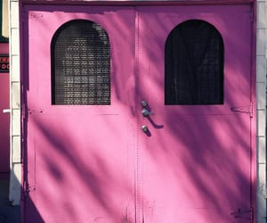 doors, photography, and pink image