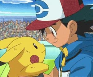 gif and pokemon ash pikachu image