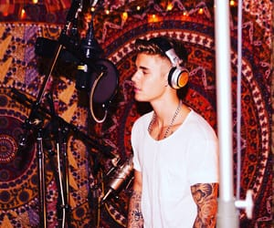 justin bieber and music image