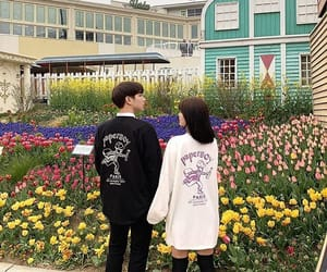 aesthetic, couples, and korean image
