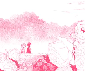 roses, pink manga, and the ancient magus' bride image