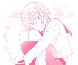 pastel, pink manga, and pink aesthetic image