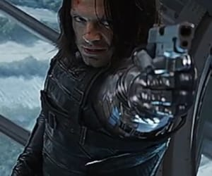 sebastian stan and winter soldier image