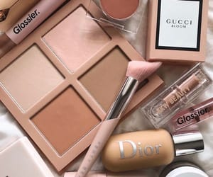 makeup, dior, and gucci image